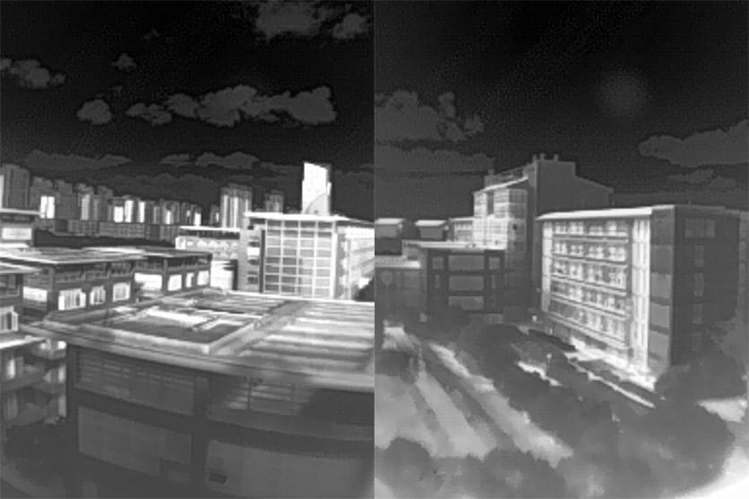 艾睿光电红外热成像仪应用于Tiny1实拍