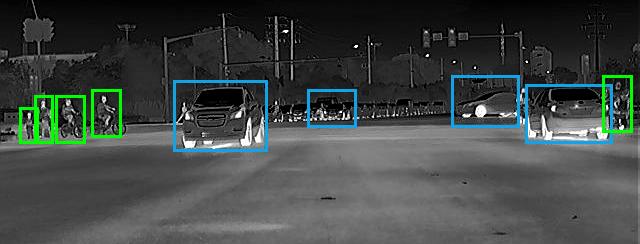 艾睿光电红外热成像仪应用于夜视实拍