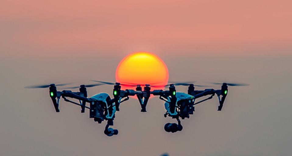艾睿光电红外热成像仪应用于轻型无人机
