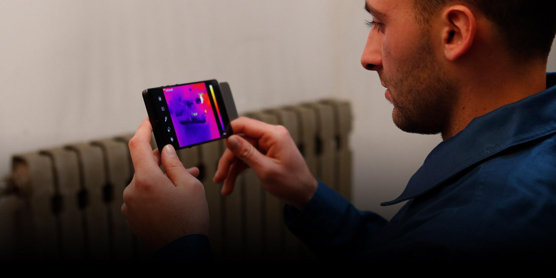 艾睿光电红外热成像仪应用于建筑暖通