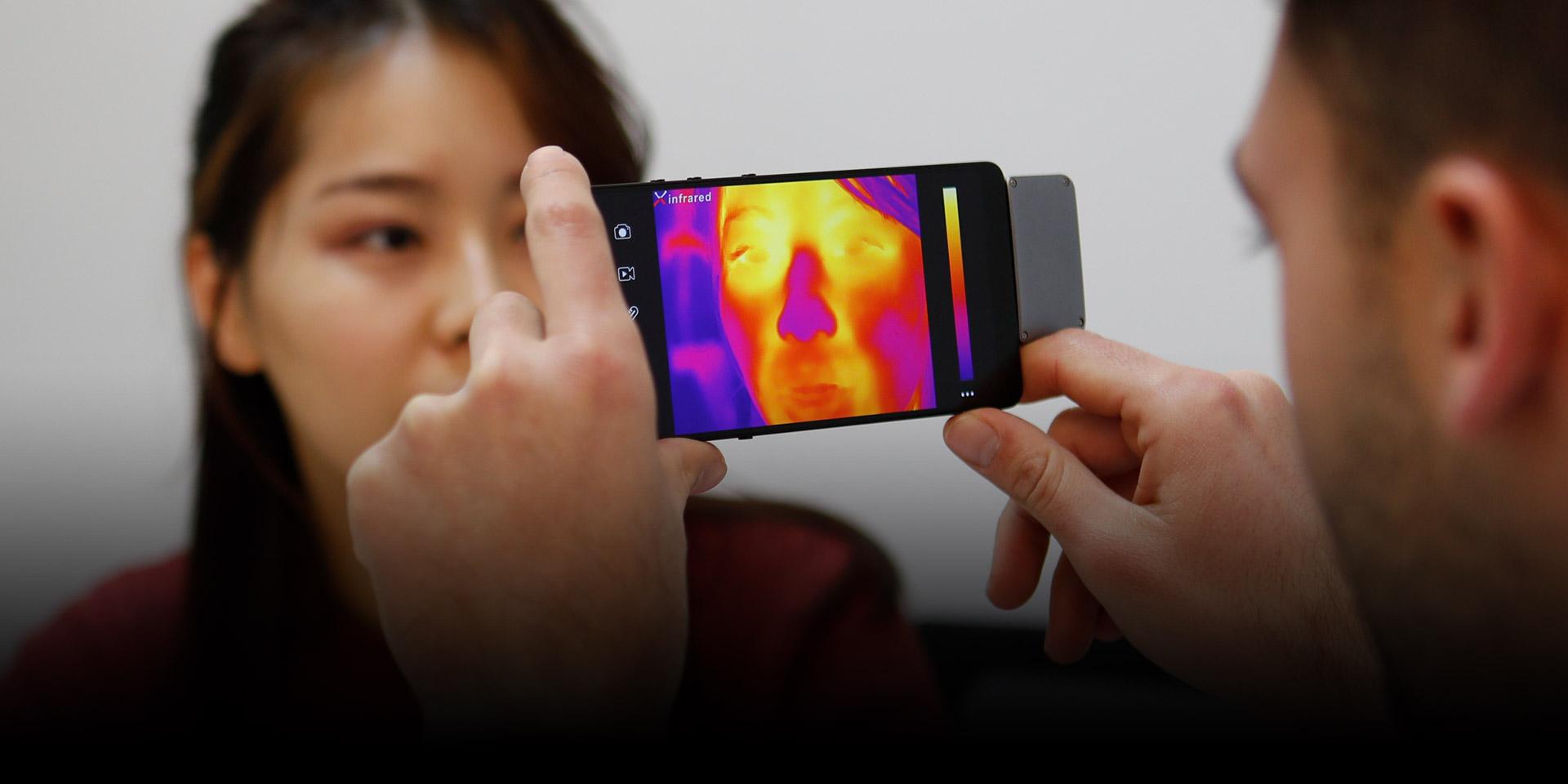 艾睿光电红外热成像仪应用于健康医疗