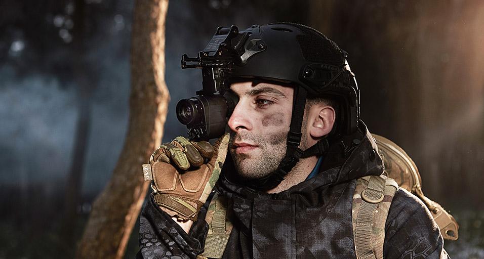 艾睿光电红外热成像仪应用于头盔夜视