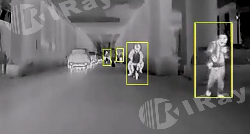 艾睿光电红外热成像仪应用于夜驾辅助