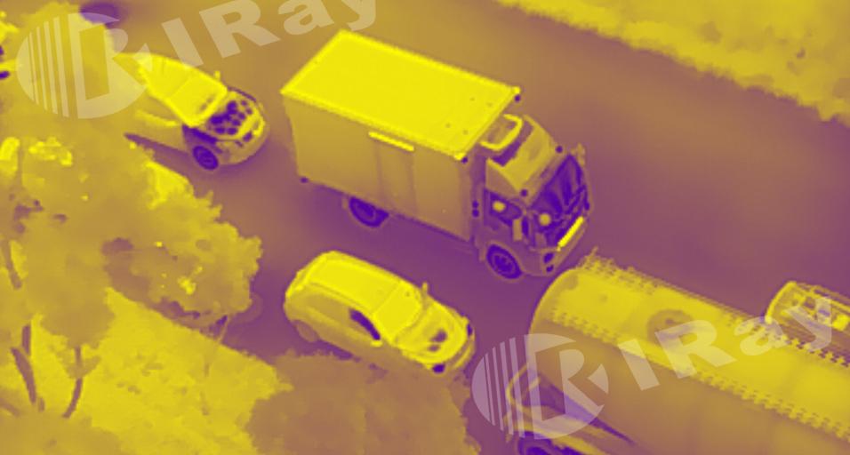 艾睿光电红外热成像仪应用于交通监测
