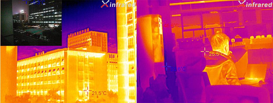 艾睿光电红外热成像仪应用于S0实拍