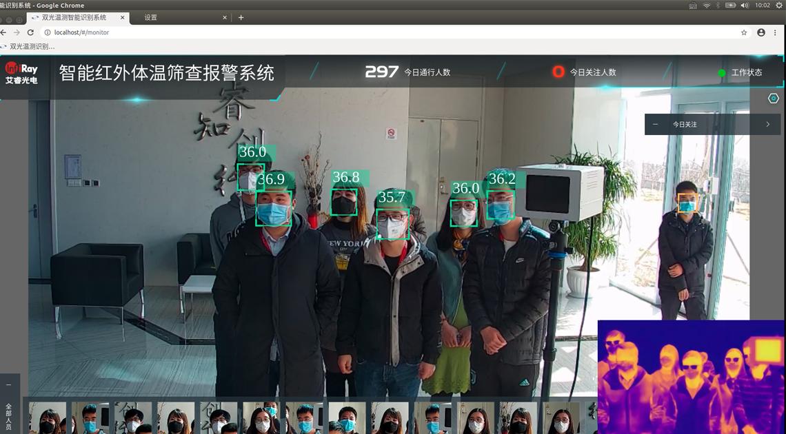 中办国办复工复产调研组一行莅临艾睿光电考察调研